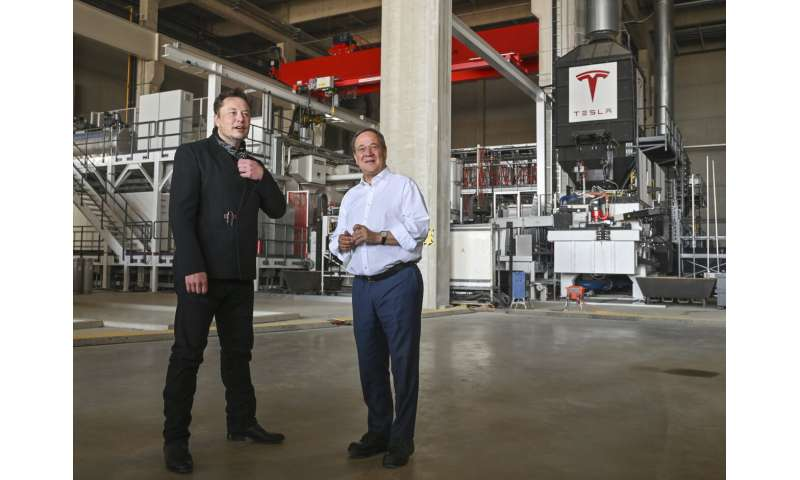 Tesla hopes to start production at Berlin factory in October