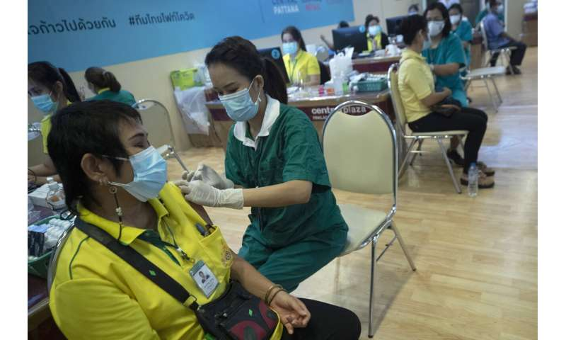 Thai people isolated by a variant are in the midst of concern over the vaccine