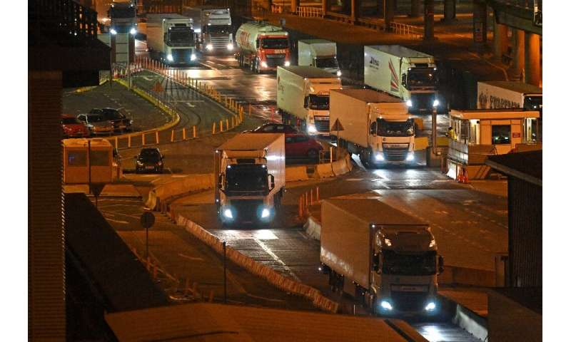 The British government insists Brexit is not to blame, although post-Brexit immigration rules have made it tougher for drivers f