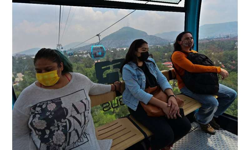 The cable car promises to cut travel times for thousands of people in Mexico City