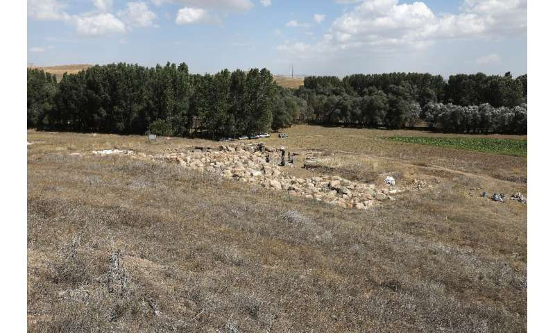 The temple at the site in central Turkey was dedicated to the storm god Teshub