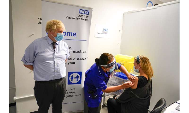 UK counts on vaccines, 'common sense' to keep virus at bay