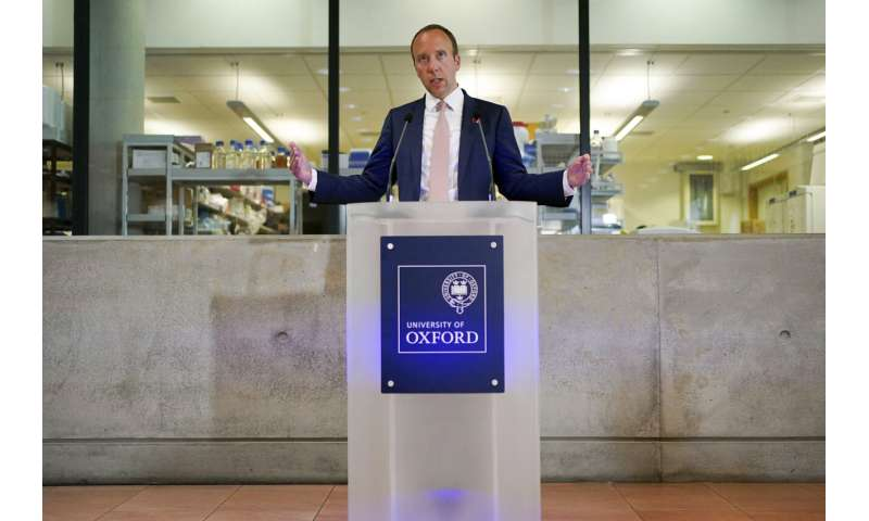 UK hits vaccine milestone, warns of 'deadly' misinformation