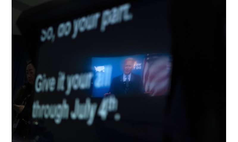 US increasingly unlikely to meet Biden's July 4 vax goal