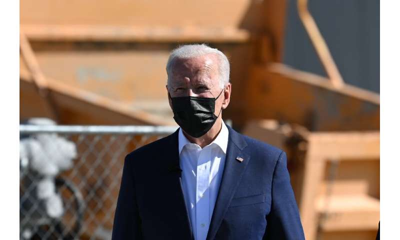 US President Joe Biden was under intense pressure from world leaders which deplored the slow distribution of vaccines around the