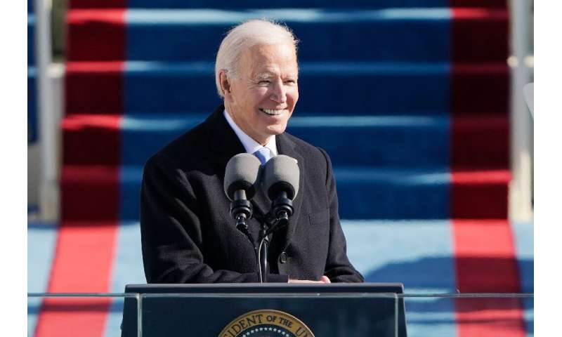 US President Joe Biden has promised to make the virus one of his main priorities