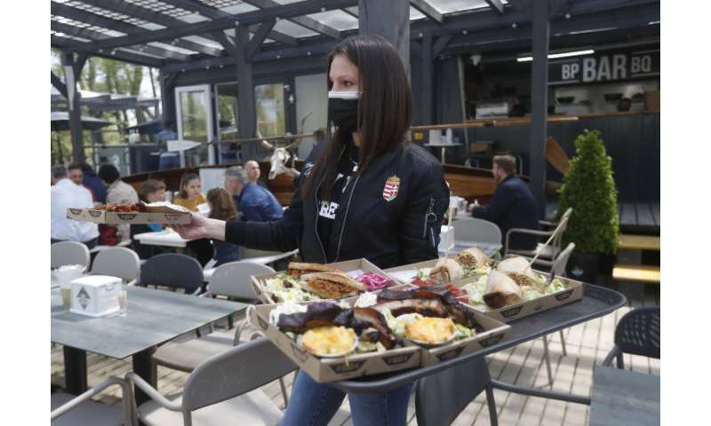 Vaccines mean Hungary's restaurants open for outdoor service