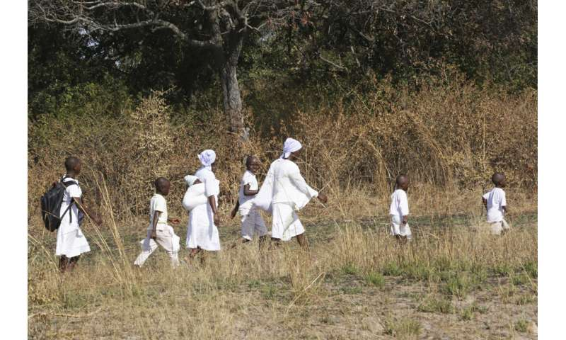 Virus infections surging in Africa's vulnerable rural areas