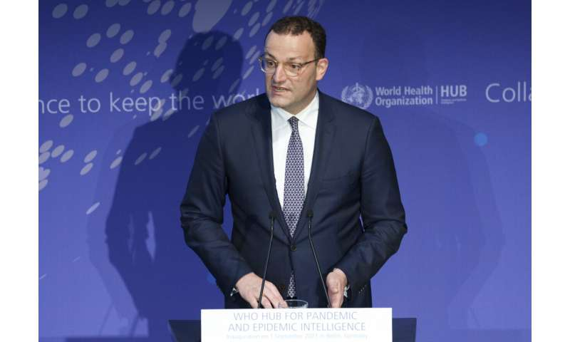 WHO launches hub in Berlin to help prevent future pandemics
