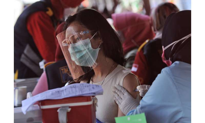 WHO warns of fresh Indonesia surge fed by virus variants