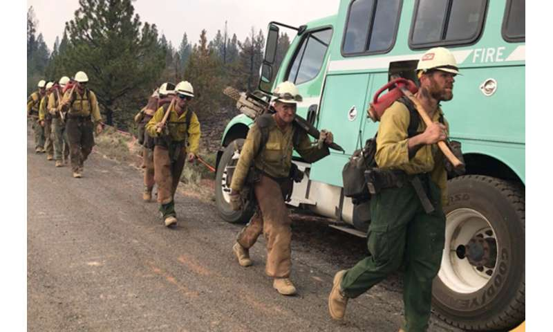 Wildfires in the western United States are causing