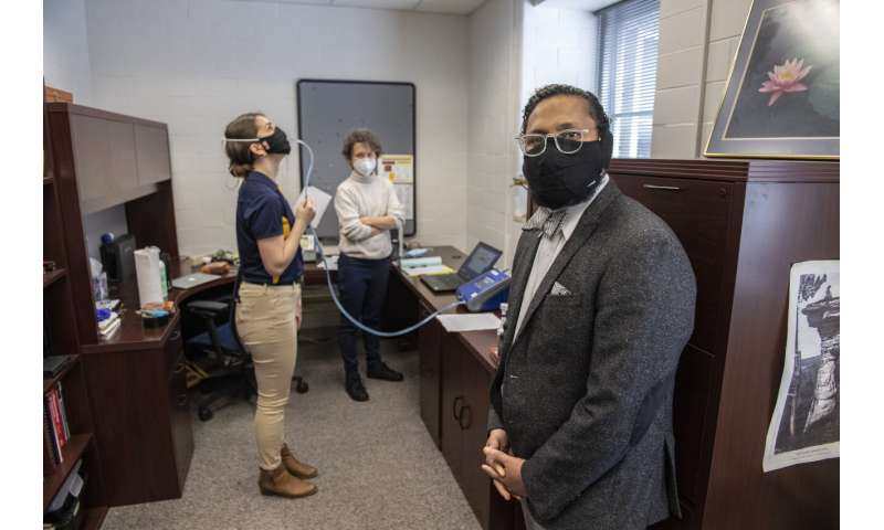 WVU researcher develops copper-infused mask for hospitality and tourism industry