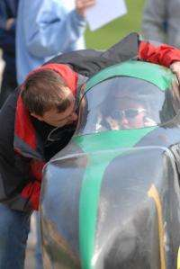 Engineering students hope to break human-powered speed records