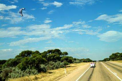 Wind-powered car completes 3,100 mile test ride across Australia