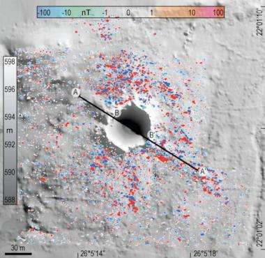 Untouched meteorite impact crater found via Google Earth