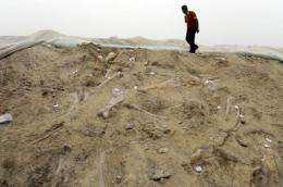 Paleontologists in China have uncovered more than 3,000 dinosaur footprints in Zhucheng