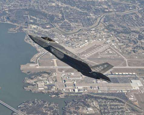 Lockheed martin flies first production F-35 stealth fighter