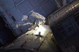 Shuttle Atlantis undocks from space station (AP)