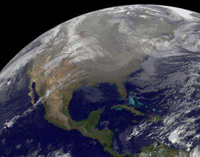 Holiday travel conditions caught by GOES satellites
