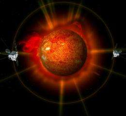 First ever STEREO images of the entire sun