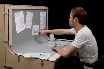 BendDesk introduced: the desk that is a touch screen (w/ Video)