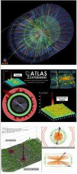 Large Hadron Collider experiments bring new insight into primordial universe