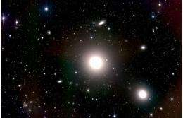Giant galaxies akin to snowflakes in space