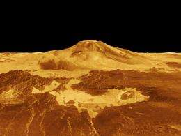 The hot atmosphere of venus might cool the interior of earth's sister planet