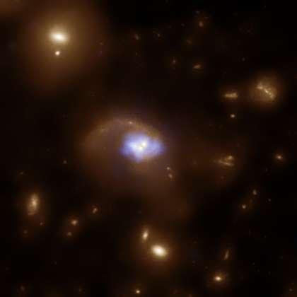 A Black Hole Slingshot?