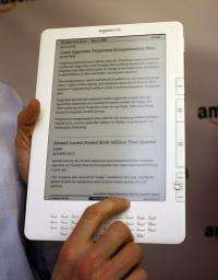 Amazon released a free program on Thursday that allows Kindle electronic books to be read on Apple's Mac computers