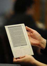 Amazon's US Kindle store currently offers more than 630,000 titles
