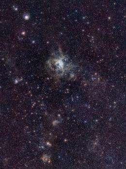 Ambitious survey spots stellar nurseries