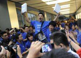 Analysts predict strong demand for the iPads in China