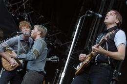 Arcade Fire, John Legend to stream concerts live (AP)