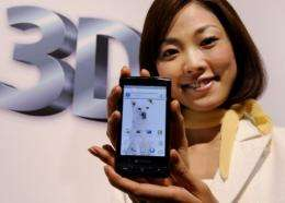 A Sharp smartphone based on Google's Android operating system