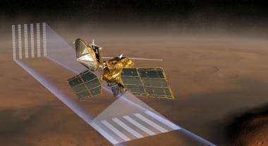 Atmosphere checked, one Mars year before a landing