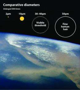 Broken glass yields clues to climate change