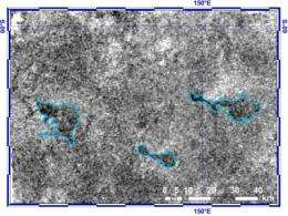 Caltech scientists measure changing lake depths on Titan