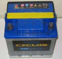 Car batteries powered by relativity