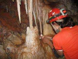 Cave reveals Southwest's abrupt climate swings during Ice Age
