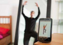 CeBIT 2011: Electronic Fitness Trainer