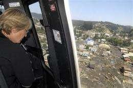 Chile quake in 'elite class' like 2004 Asian quake (AP)