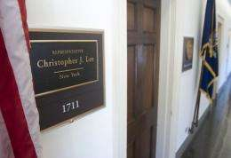 Christopher Lee's office on Capitol Hill