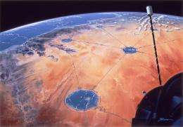 Could an Aqua-Net Bring Water to the Desert?
