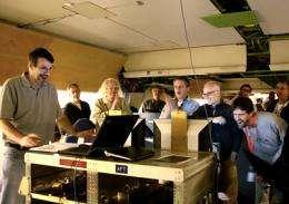 CU telescope debuts on NASA flying observatory