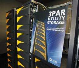 Data duel: HP tries to outbid rival Dell for 3Par (AP)