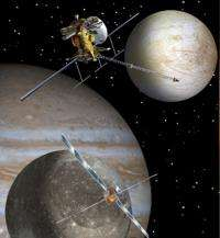 Dual Drill Designed for Europa's Ice