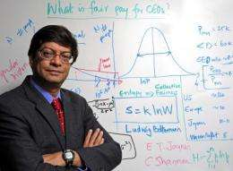 'Econophysics' points way to fair salaries in free market