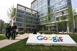E-mail leak has Google threatening to leave China (AP)