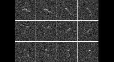 Space radar provides taste of Comet Hartley 2